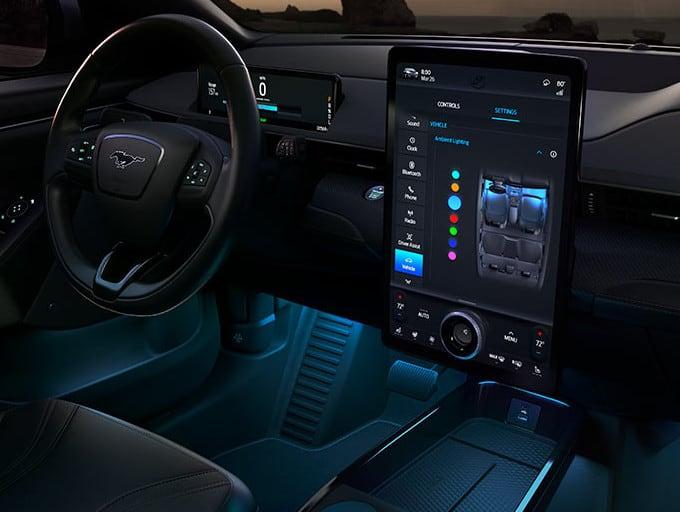 Mach-E Interior